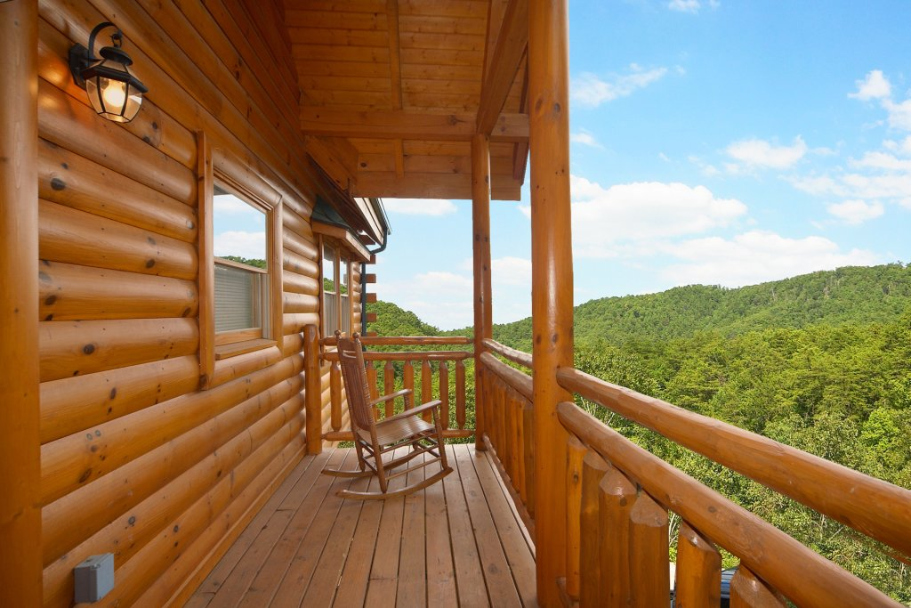 Photo of a Pigeon Forge Cabin named Home Theater Lodge - This is the sixth photo in the set.