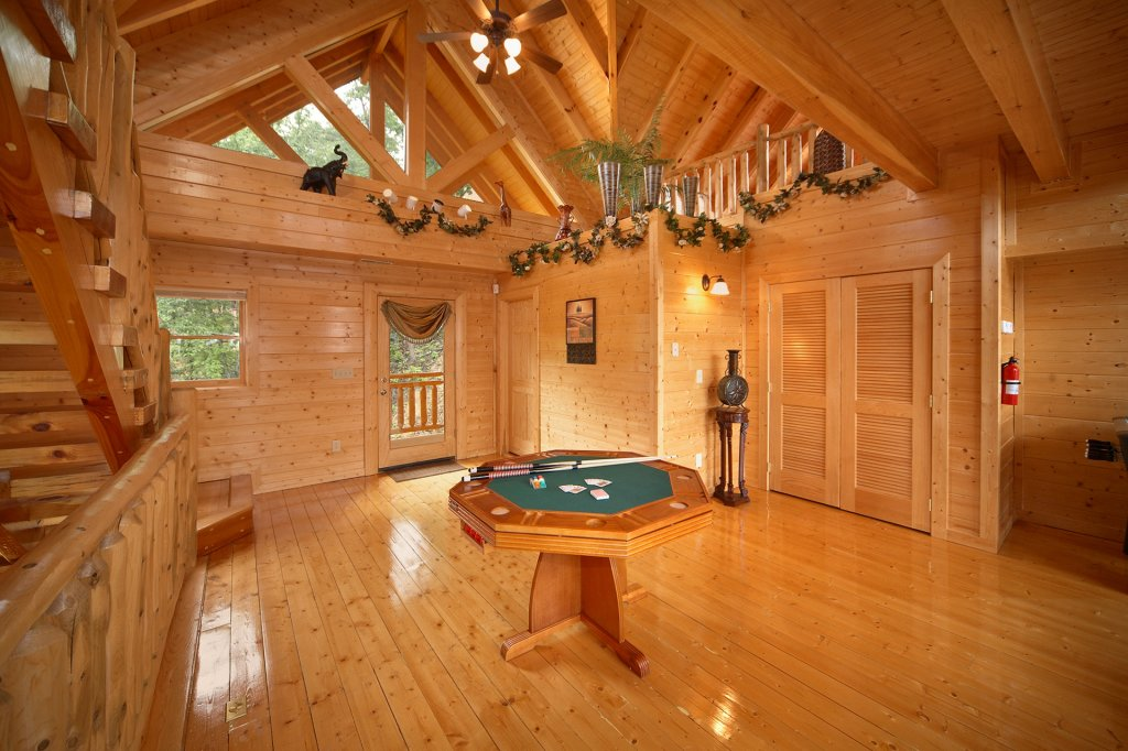 Photo of a Pigeon Forge Cabin named Home Theater Lodge - This is the ninth photo in the set.