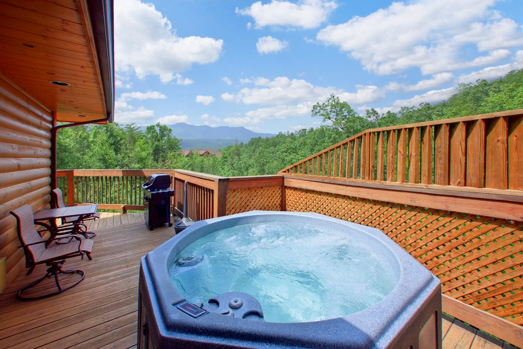 Photo of a Gatlinburg Cabin named Knotty Pine Delight - This is the second photo in the set.