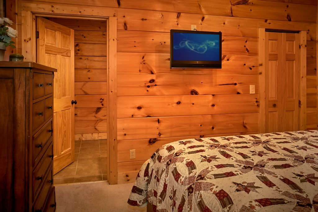 Photo of a Pigeon Forge Cabin named Pinnacle Vista - This is the twenty-third photo in the set.