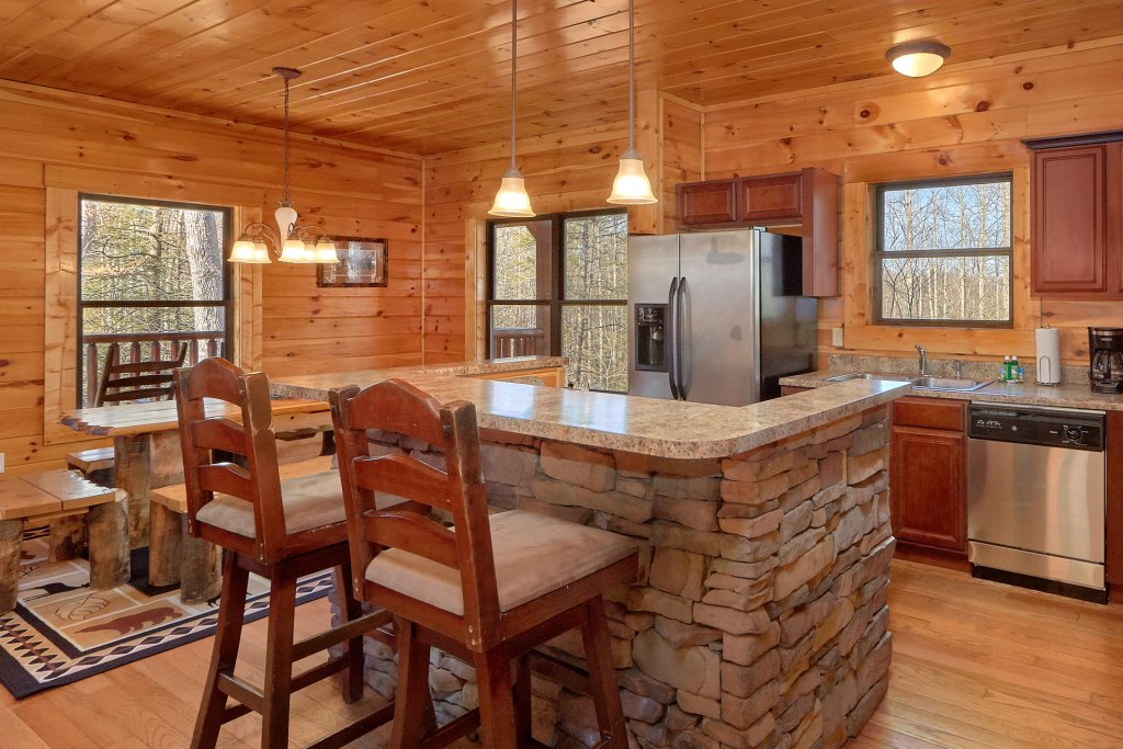 Photo of a Gatlinburg Cabin named A Smoky Hideaway - This is the tenth photo in the set.