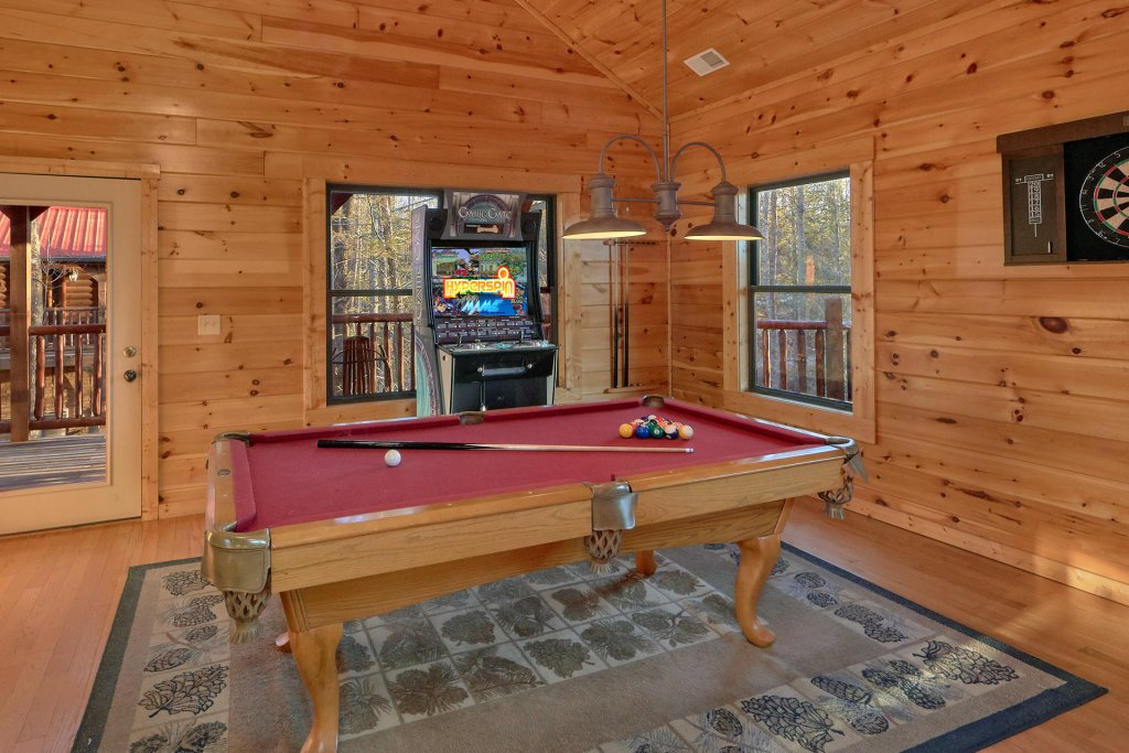 Photo of a Gatlinburg Cabin named A Smoky Hideaway - This is the second photo in the set.