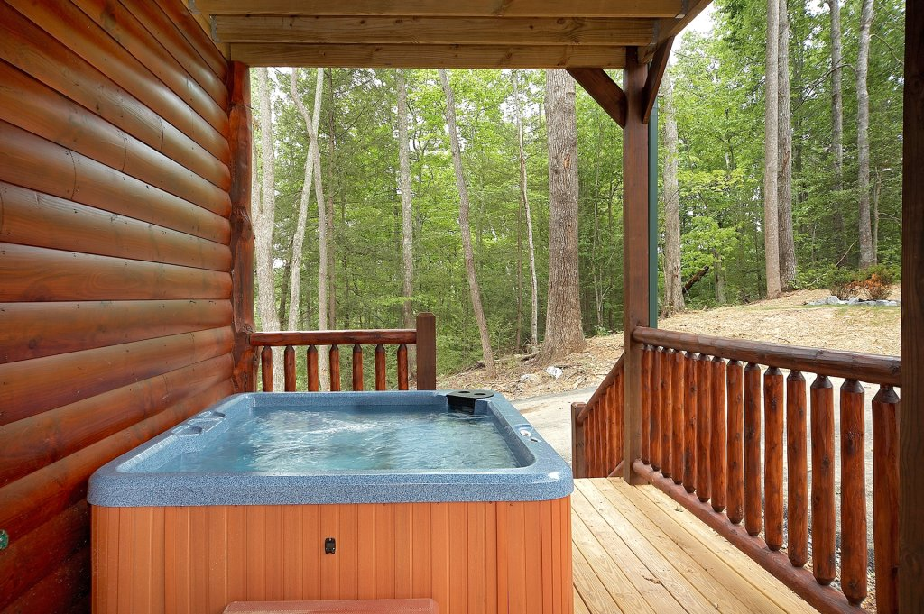 Photo of a Gatlinburg Cabin named A Smoky Hideaway - This is the sixth photo in the set.