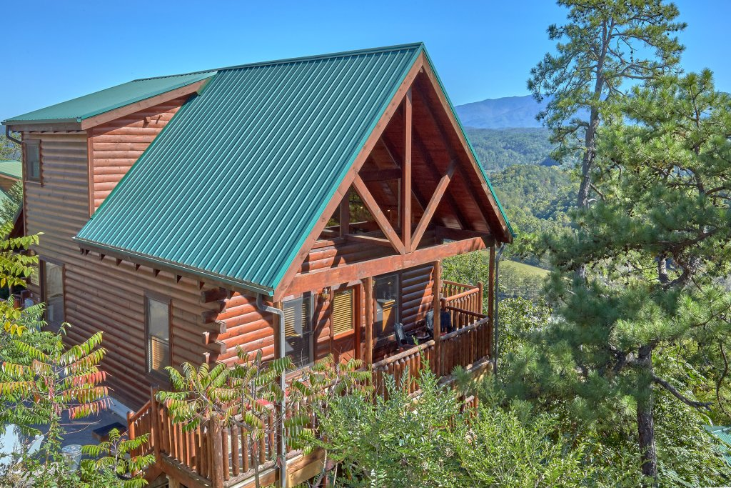 Photo of a Pigeon Forge Cabin named King's View - This is the thirtieth photo in the set.