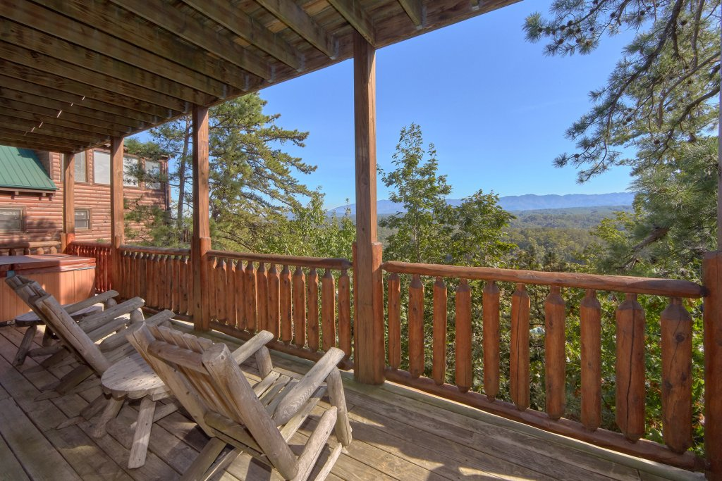 Photo of a Pigeon Forge Cabin named King's View - This is the tenth photo in the set.