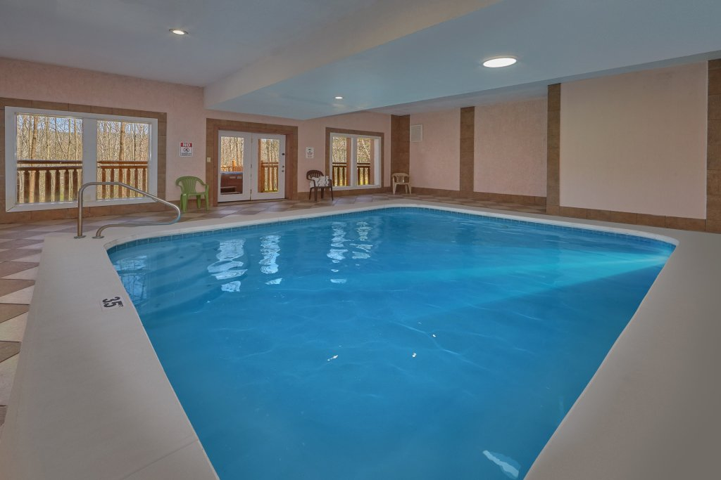 Photo of a Gatlinburg Cabin named Indoor Pool Beauty - This is the first photo in the set.
