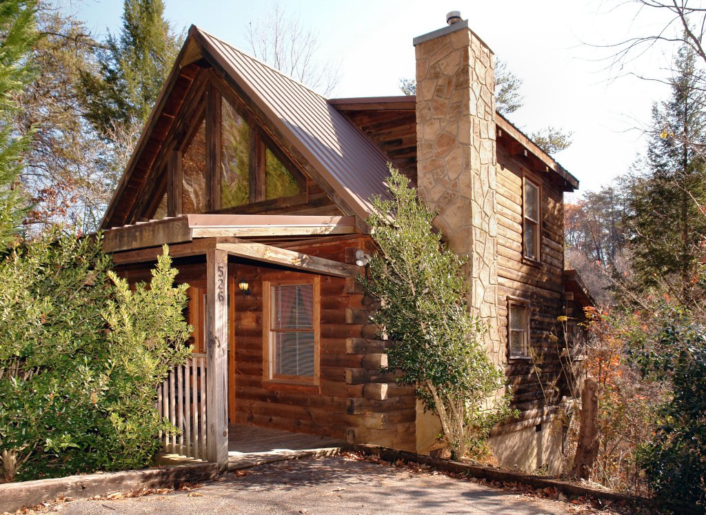 Photo of a Pigeon Forge Cabin named Romantic Hideaway #126 - This is the first photo in the set.
