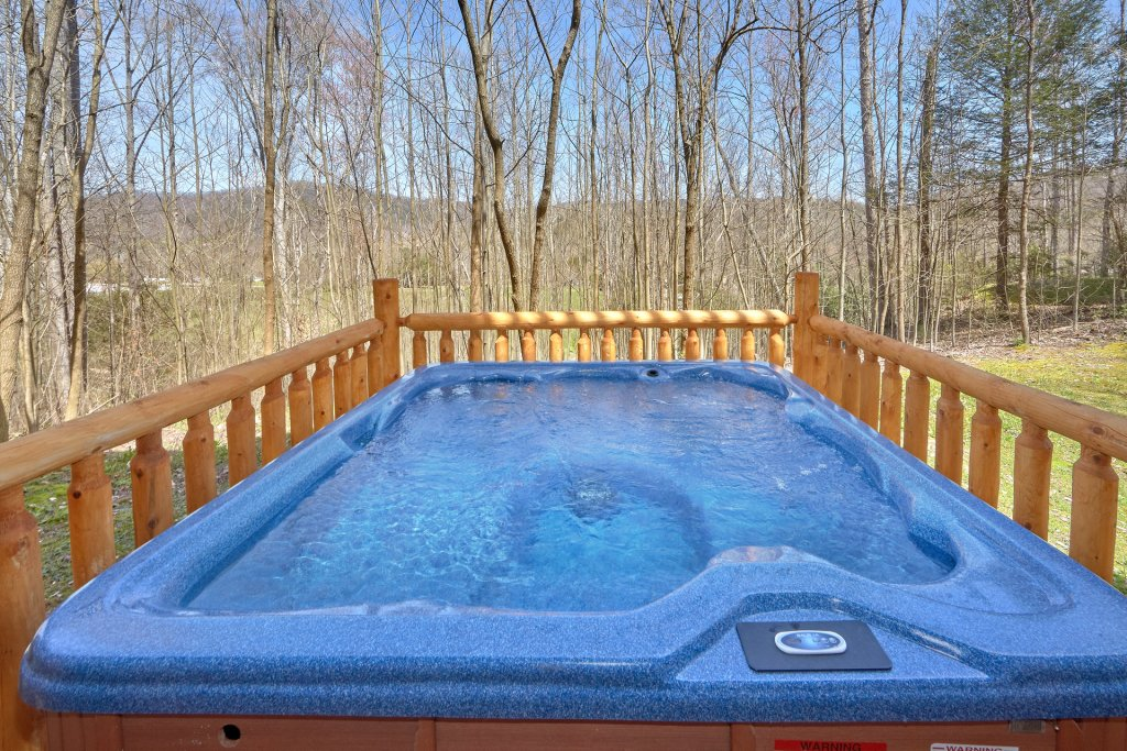 Photo of a Gatlinburg Cabin named Indoor Pool Beauty - This is the second photo in the set.