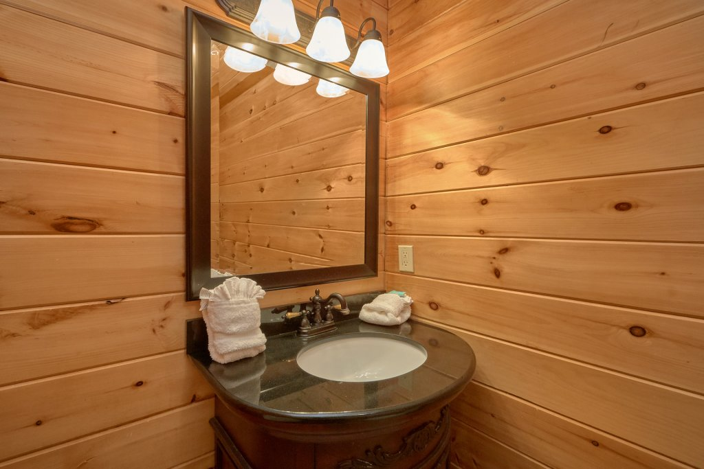 Photo of a Gatlinburg Cabin named Indoor Pool Beauty - This is the thirty-fourth photo in the set.
