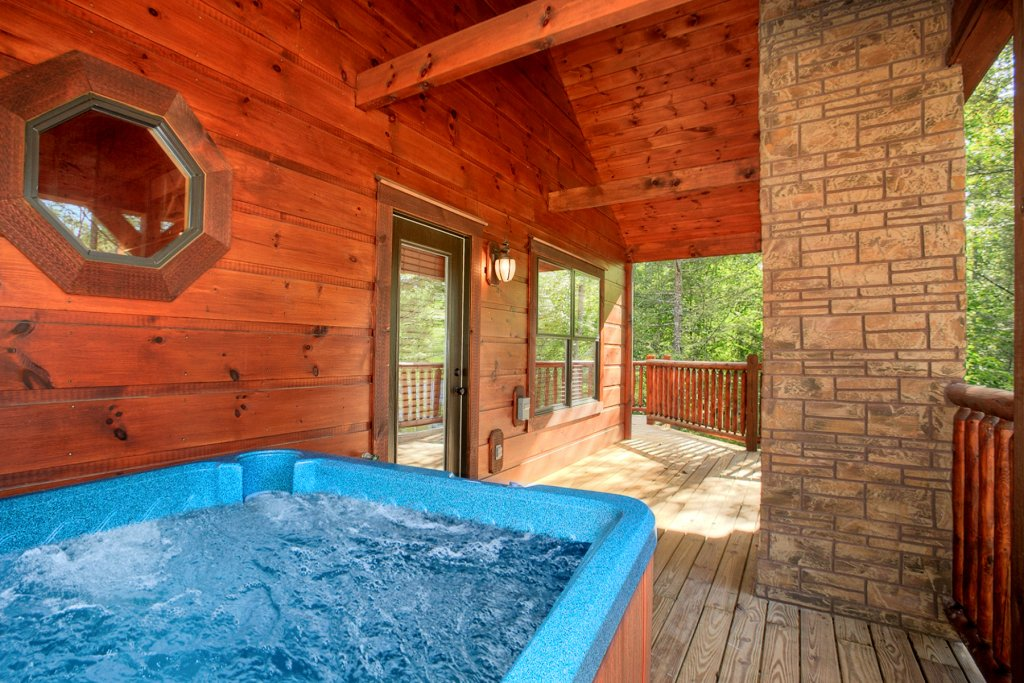 Photo of a Gatlinburg Cabin named Bear Cub Lodge - This is the second photo in the set.