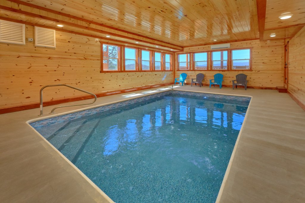 Photo of a Pigeon Forge Cabin named Summit Pool Lodge - This is the first photo in the set.