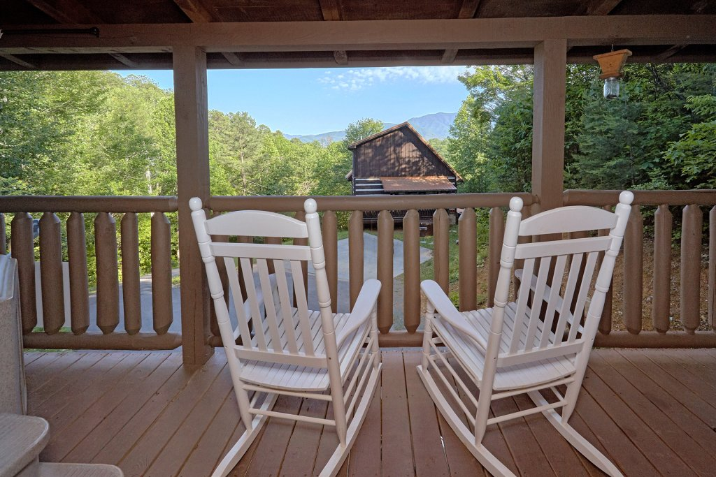 Photo of a Gatlinburg Cabin named Pool Time Paradise - This is the third photo in the set.