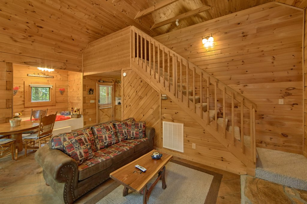 Photo of a Pigeon Forge Cabin named All Tucked Away #114 - This is the twenty-second photo in the set.