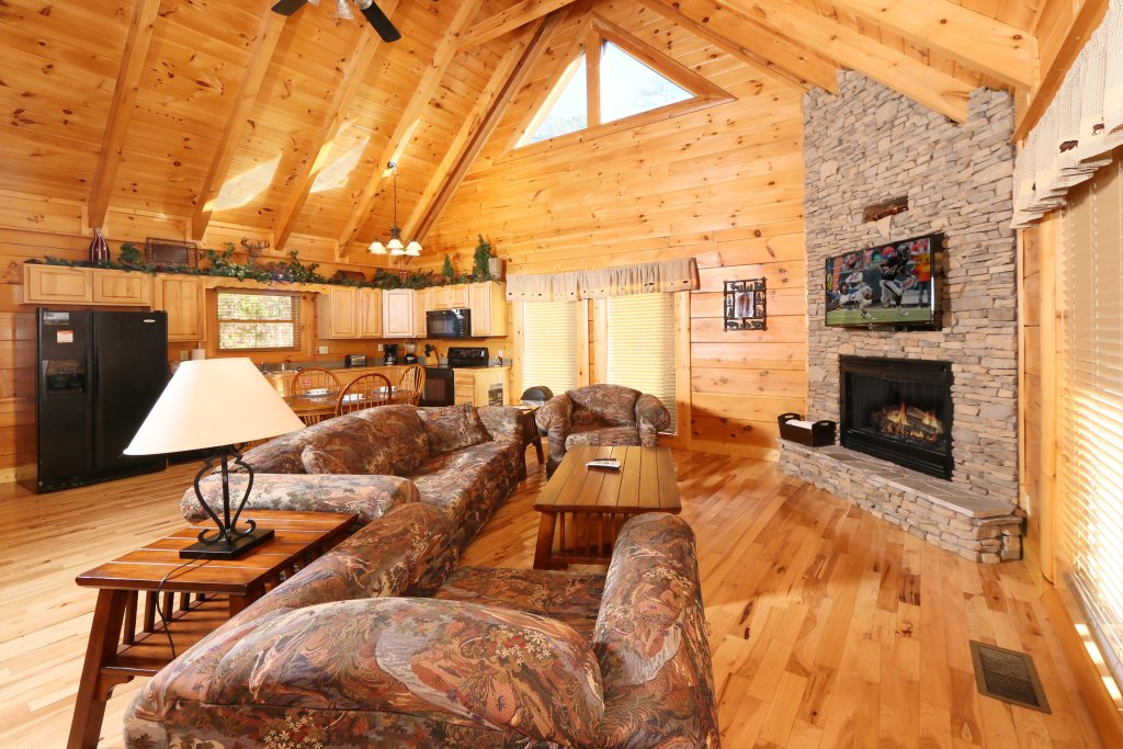Photo of a Pigeon Forge Cabin named A Little Slice Of Heaven - This is the ninth photo in the set.