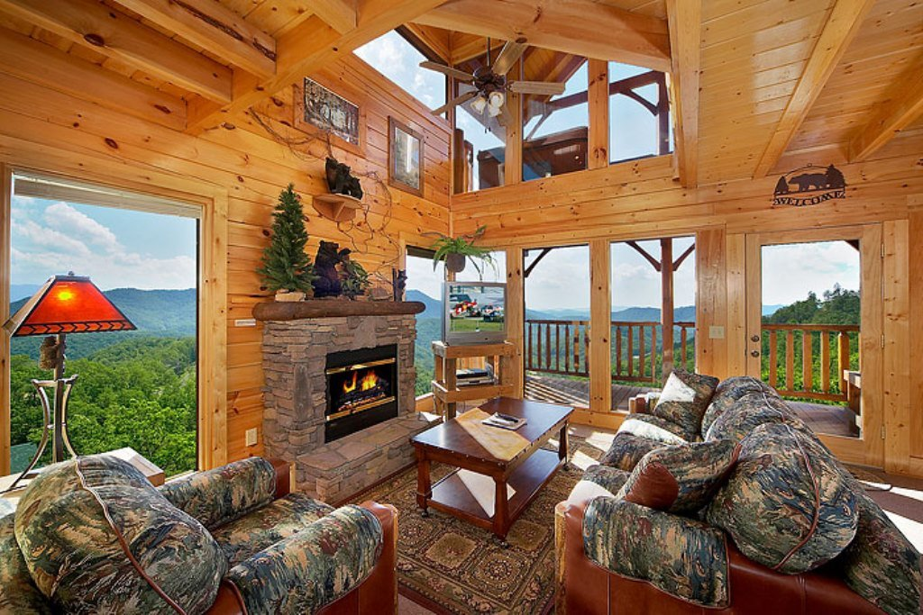 Photo of a Pigeon Forge Cabin named Eagles Nest - This is the fourth photo in the set.