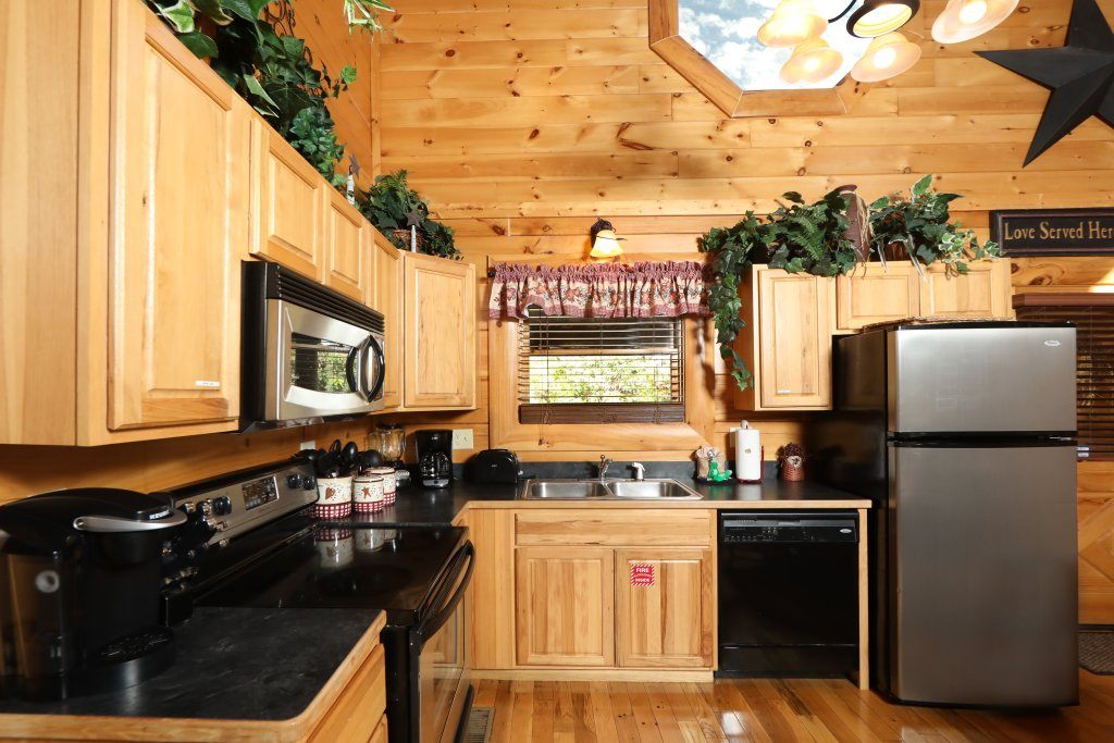 Photo of a Pigeon Forge Cabin named Amazing Grace - This is the thirtieth photo in the set.