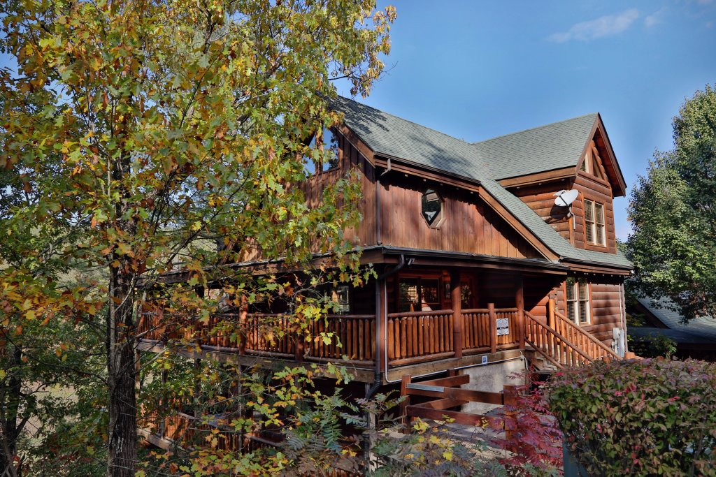 Photo of a Pigeon Forge Cabin named Blessed Nest - This is the twentieth photo in the set.
