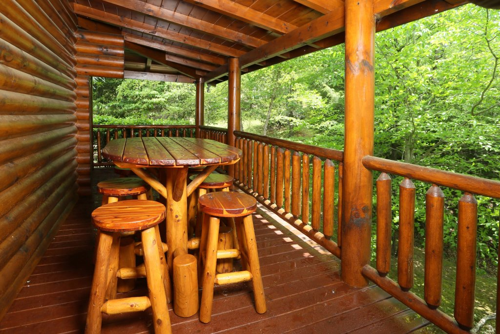 Photo of a Pigeon Forge Cabin named Black Bear Hideaway - This is the tenth photo in the set.