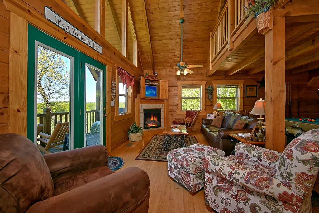 Photo of a Gatlinburg Cabin named American Dream #142 - This is the eighth photo in the set.