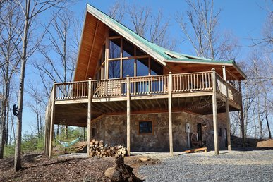 Taking A Nice Family Vacation?  Take A Look At This Gorgeous 5 Bedroom Cabin.