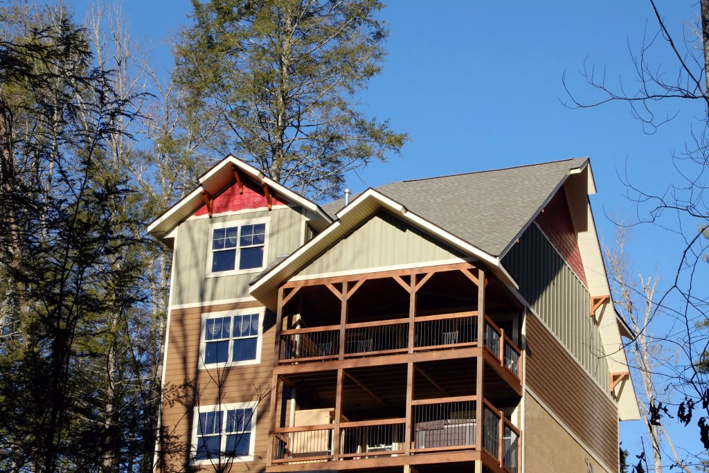 Photo of a Gatlinburg Cabin named Hilltop Haven - This is the third photo in the set.