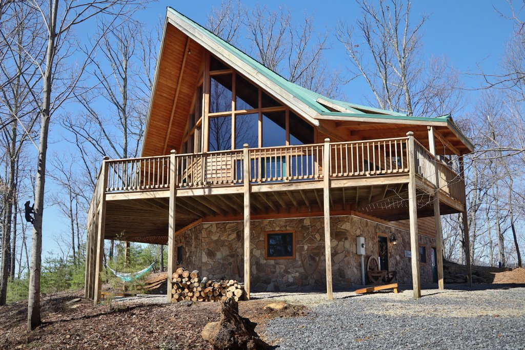 Photo of a Pigeon Forge Cabin named Haven Of Rest - This is the first photo in the set.