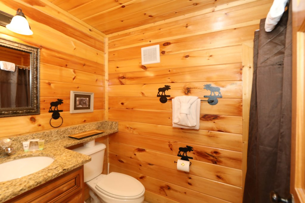 Photo of a Pigeon Forge Cabin named Playhouse Cinema - This is the twentieth photo in the set.