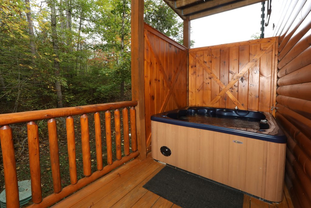 Photo of a Pigeon Forge Cabin named Smoky Bear Manor - This is the second photo in the set.