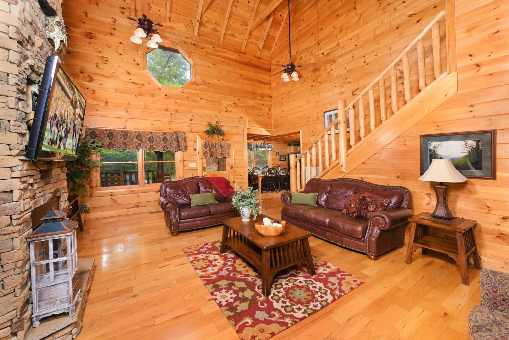Photo of a Pigeon Forge Cabin named Almost Heaven - This is the fourth photo in the set.