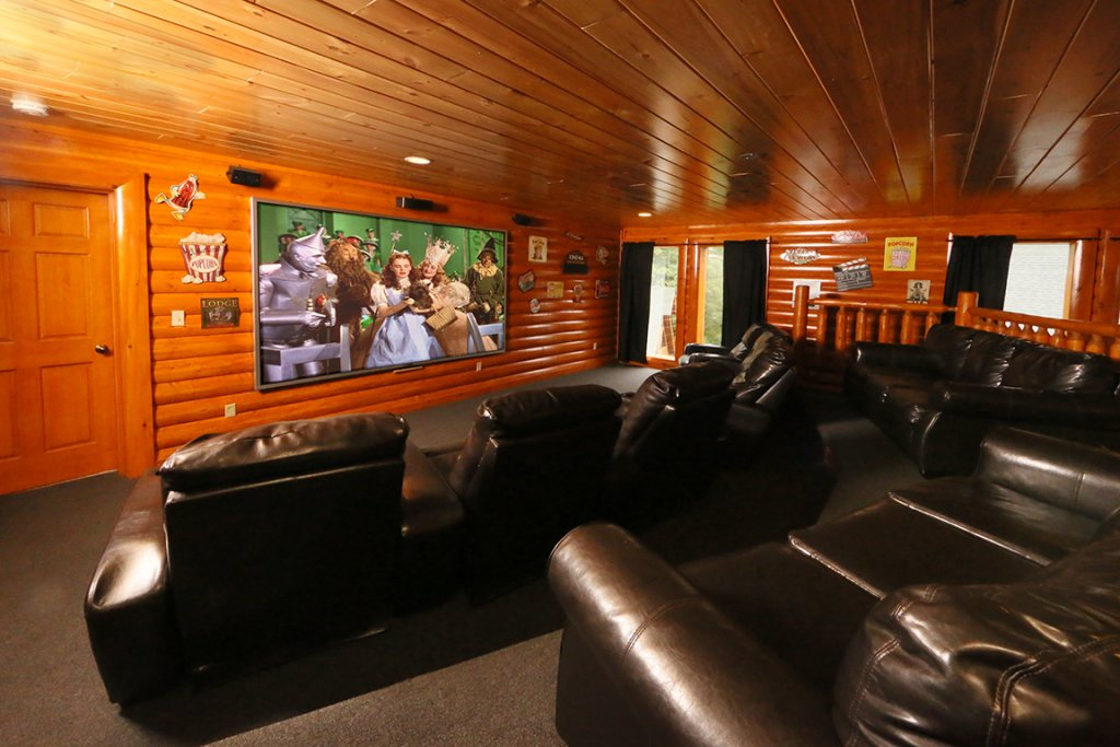 Photo of a Pigeon Forge Cabin named Mountain Movie Inn - This is the first photo in the set.