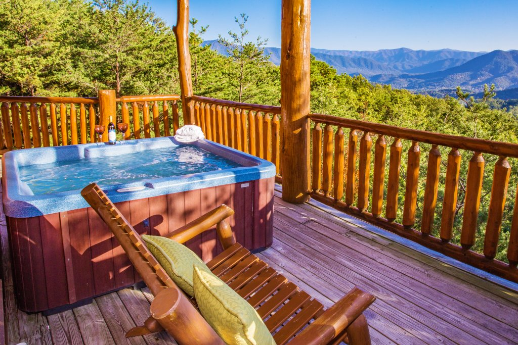 Photo of a Pigeon Forge Cabin named Where Eagles Fly - This is the forty-first photo in the set.