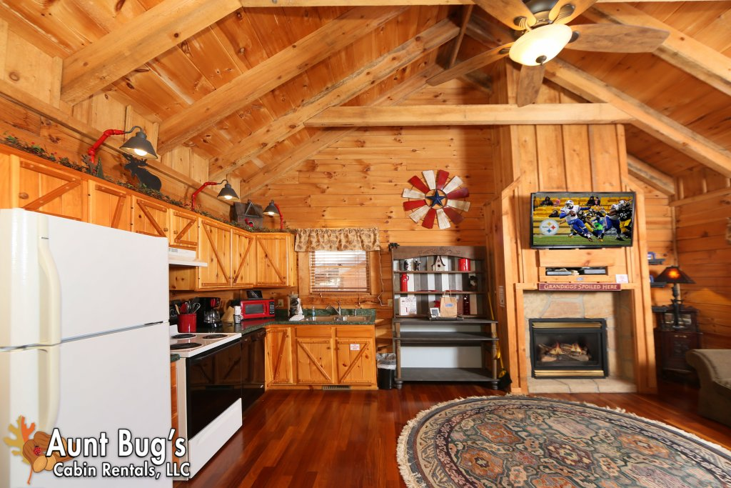 Photo of a Pigeon Forge Cabin named Firefly Hollow #165 - This is the forty-fourth photo in the set.