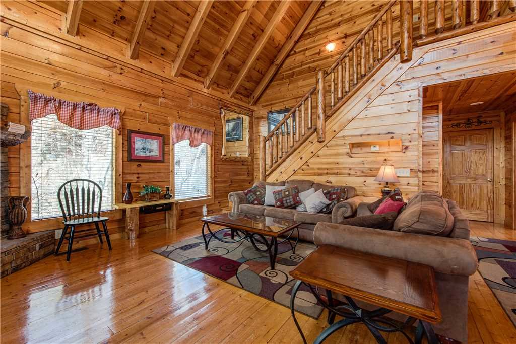 Photo of a Pigeon Forge Cabin named Mountain View Escape - This is the first photo in the set.