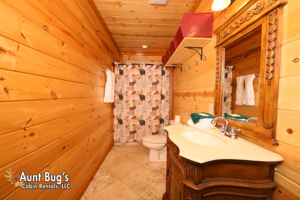Photo of a Gatlinburg Cabin named Swimmin With Bears #375 - This is the thirteenth photo in the set.