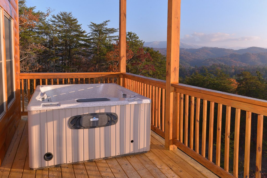 Photo of a Pigeon Forge Cabin named A View To Remember #204 - This is the fifty-third photo in the set.