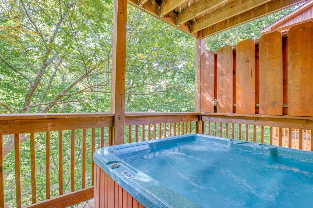 Photo of a Pigeon Forge Cabin named Simple Elegance - This is the third photo in the set.
