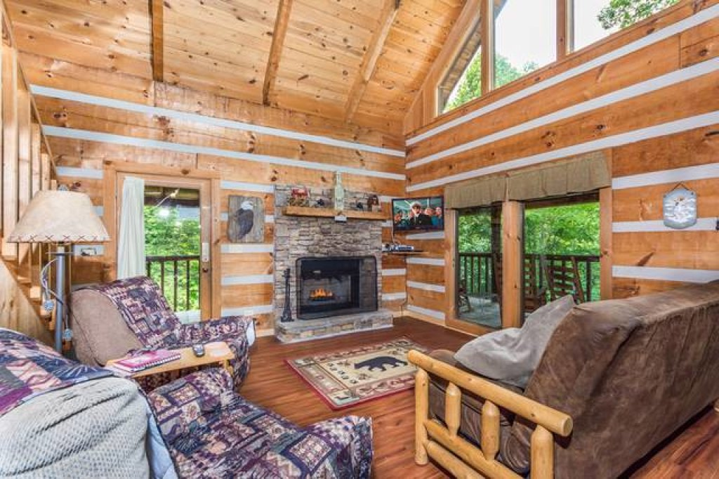 Photo of a Pigeon Forge Cabin named Simply Serene - 201 - This is the first photo in the set.
