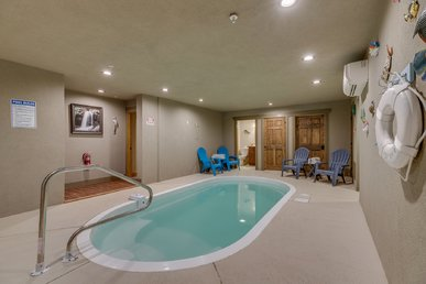 Swimmin' In The Smokies A 6 Bedroom Cabin With Indoor Pool.