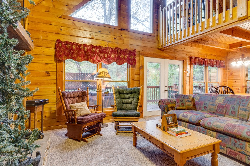 Photo of a Gatlinburg Cabin named Beary Comfy - This is the seventh photo in the set.