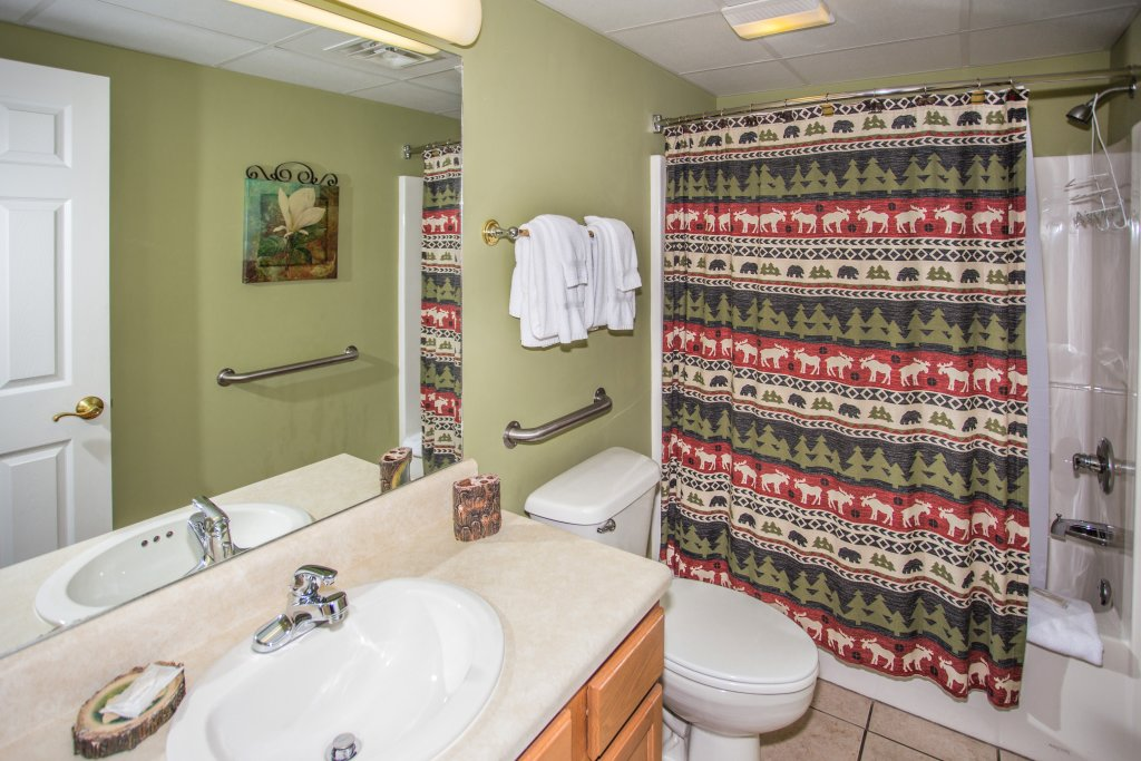 Photo of a Pigeon Forge Condo named Bear Crossing 403 - This is the twenty-fourth photo in the set.