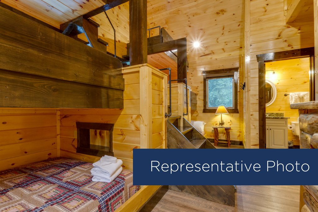 Photo of a Gatlinburg Cabin named The Big Poplar Retreat - This is the twelfth photo in the set.