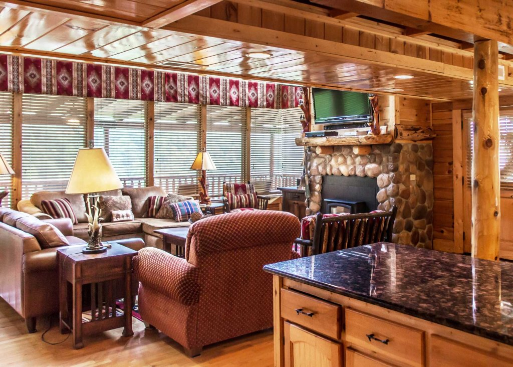 Photo of a Pigeon Forge Cabin named Angel's Perch #54 - This is the third photo in the set.