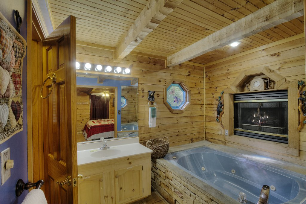 Photo of a Sevierville Cabin named Pure Pleasure Too #202 - This is the eighteenth photo in the set.