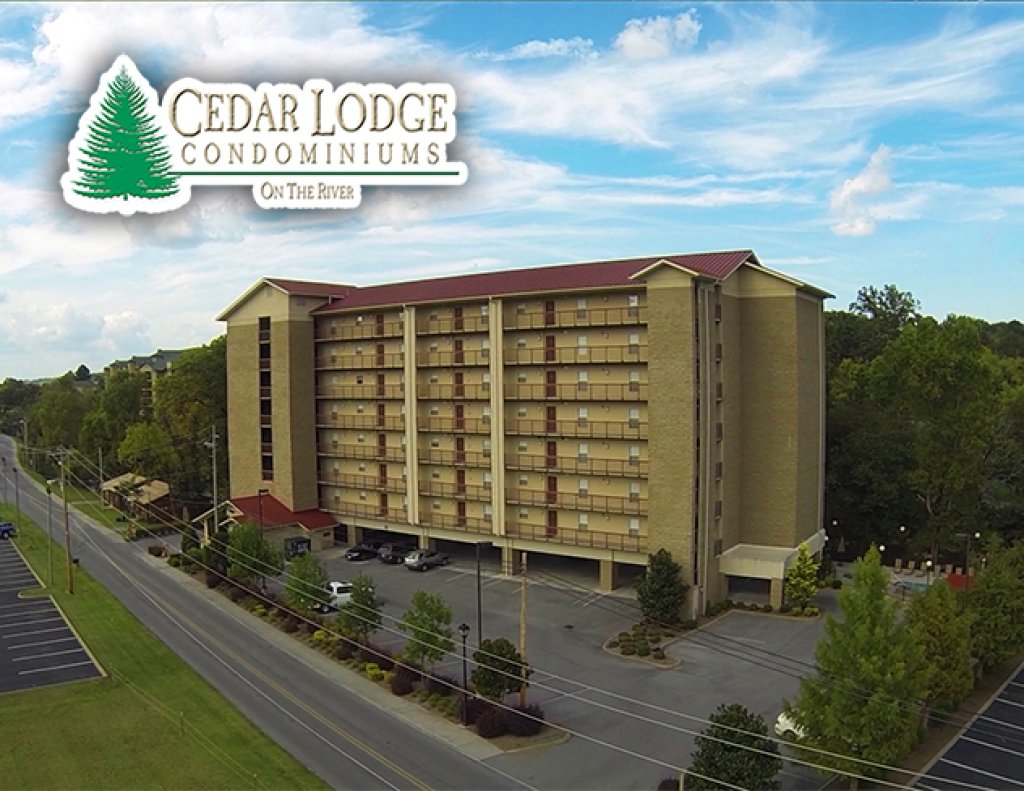 Photo of a Pigeon Forge Condo named Cedar Lodge 404 - This is the second photo in the set.