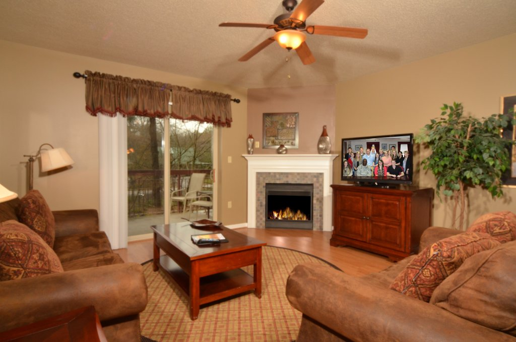 Photo of a Pigeon Forge Condo named Cedar Lodge 101 - This is the first photo in the set.