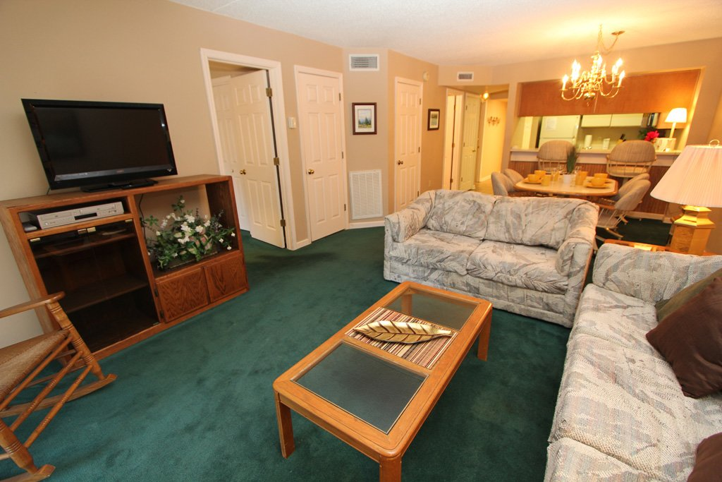 Photo of a Gatlinburg Condo named Level Two, Great River View - 206 - This is the second photo in the set.