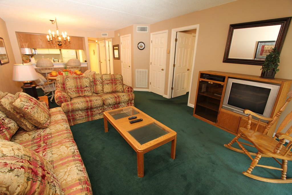 Photo of a Gatlinburg Condo named Level One, Great River View - 102 - This is the second photo in the set.
