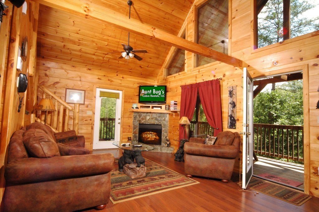 Photo of a Pigeon Forge Cabin named A Bear's Eye View #251 - This is the fourteenth photo in the set.
