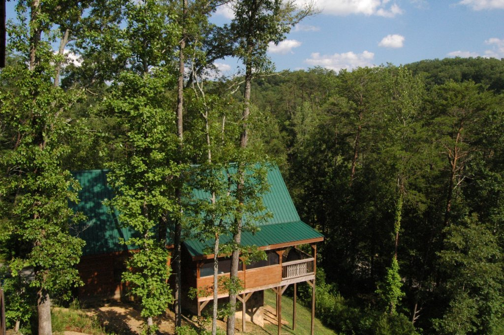 Photo of a Pigeon Forge Cabin named A Bear's Eye View #251 - This is the eighteenth photo in the set.