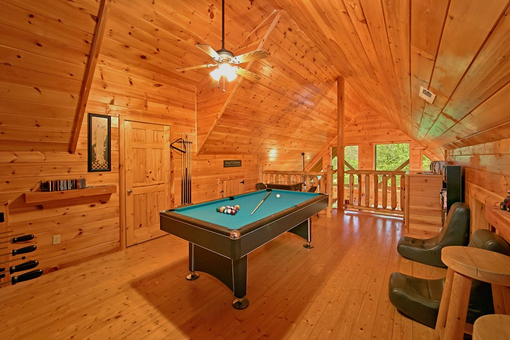 Photo of a Pigeon Forge Cabin named A Bear's Eye View #251 - This is the third photo in the set.